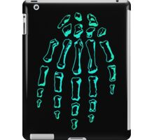 Green Skeleton Hand iPad Case/Skin