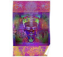 7167 Nefertiti reworked Poster