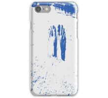 Blue Feet Buried in the Tides of Sands iPhone Case/Skin