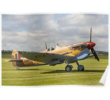 Spitfire LF.VcTrop G-LFVC JG891/TB Poster