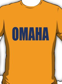 Peyton Manning - Snap Count - OMAHA T-Shirt
