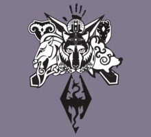 Skyrim Logo Compilation Kids Clothes