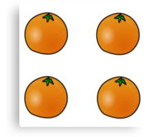 Oranges Oranges Oranges  Canvas Print