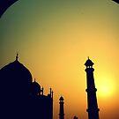The Taj at Dawn by PerkyBeans