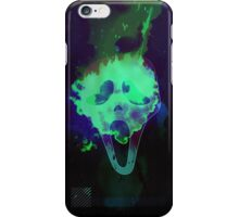 Scream mask horror iPhone Case/Skin