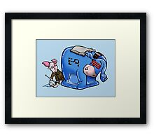 E-9 and Friend Framed Print
