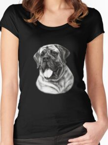 Mastiff Women's Fitted Scoop T-Shirt
