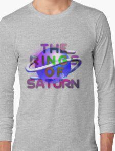Sega Saturn Forever - Text Long Sleeve T-Shirt