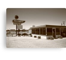 Route 66 - Buckaroo Motel Canvas Print