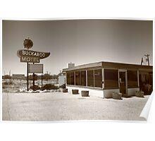Route 66 - Buckaroo Motel Poster
