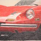 246 GT by Peter Brandt