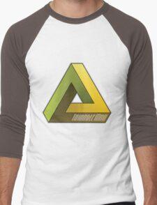 Triangle Man! Men's Baseball ¾ T-Shirt