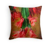 Express yourself with flower power Throw Pillow