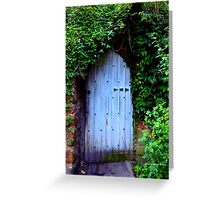 HIDDEN DOORWAY Greeting Card