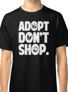 Adopt Don't Shop Animal Rights Classic T-Shirt