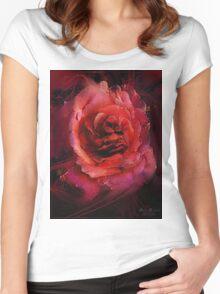 Rosemeld Women's Fitted Scoop T-Shirt