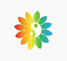 Yin Yang Petals Rainbow Unisex T-Shirt