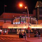 Coney Island train station by henuly1