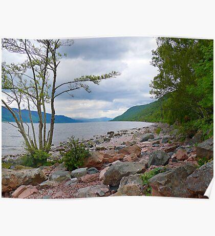 Loch Ness Coast Poster