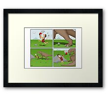 Prehistoric Cigarette Lighter Framed Print
