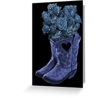☆ ★ ☆EVEN COWGIRLS GET THE BLUES -SOMETIMES-(AND COWBOYS 2) PICTURE/CARD ☆ ★ ☆¸ Greeting Card