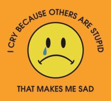 I Cry by DetourShirts