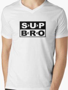 SUP BRO Mens V-Neck T-Shirt