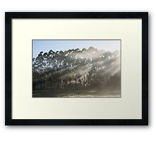 ~ Down a New Road & Round a New Bend ~ Framed Print