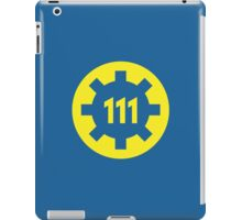 Vault 111 Symbol iPad Case/Skin