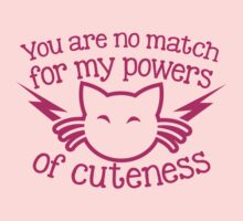 You are NO MATCH for my powers of CUTENESS! kitty cat by jazzydevil