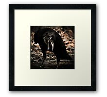 all that has a deathly smack he prefers - Happy Halloween Framed Print