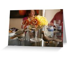 The Luncheon Table Greeting Card