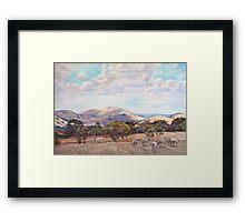 Strathbogie Summer Landscape  Framed Print