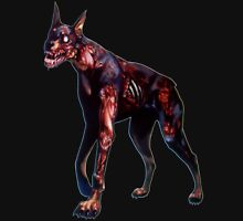 Zombified Dobermann Unisex T-Shirt