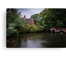 Lyng, Norfolk. Canvas Print