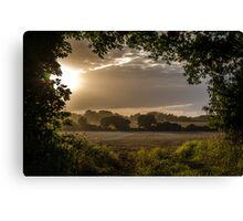 Norfolk Sunset Canvas Print