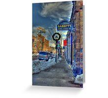Holiday Time in Flagstaff Arizona Greeting Card