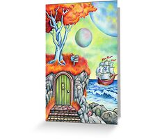 The Secret Cove Greeting Card