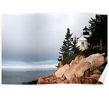 Bass Harbor Lighthouse, Maine Poster