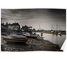 Wells Foreshore Poster