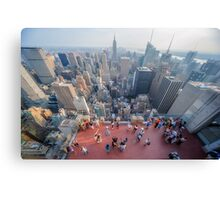 In The Midst of Manhattan Canvas Print