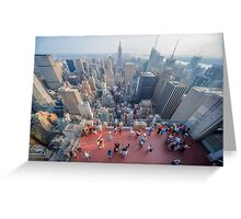 In The Midst of Manhattan Greeting Card