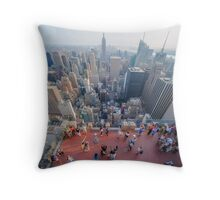 In The Midst of Manhattan Throw Pillow