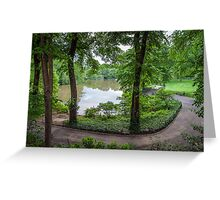 Central Park Serenity Now II Greeting Card