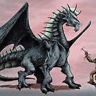 Brawe dragon by VladaNaf