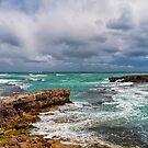 Storms Over Doorway Rock by John Sharp