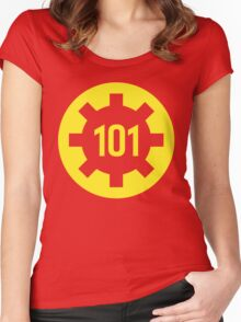 101 Women's Fitted Scoop T-Shirt