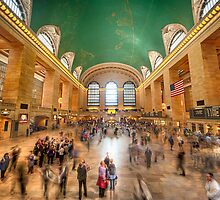 Grand Central Rush by Ray Warren