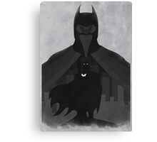 JLA: Batman Minimalist Comics Justice League of America Canvas Print
