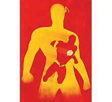 JLA: Flash Minimalist Comics Justice League of America Photographic Print